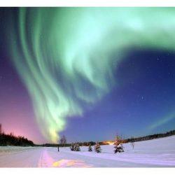 Auroras boreales naturales y artificiales