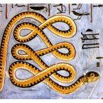 La serpiente y el aldeano