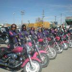 Un voluntariado único: las guerreras motoclub