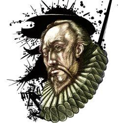 Miguel de Cervantes, personaje de teatro