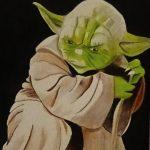 Enseñó el Maestro Yoda…  Como una roca