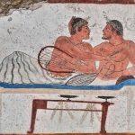 Un nadador en la Grecia antigua: saltando a otro mundo