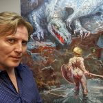Francisco Sanchis Cortés: «Estoy pintando la música, no musicalizando la pintura»
