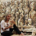 María Gómez Rodrigo: «Creando arte hoy, restaurando el arte del pasado»