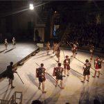 Sonnica y Acteón en el teatro romano de Sagunto