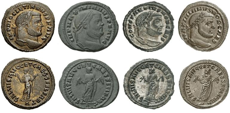 monedas romanas 0