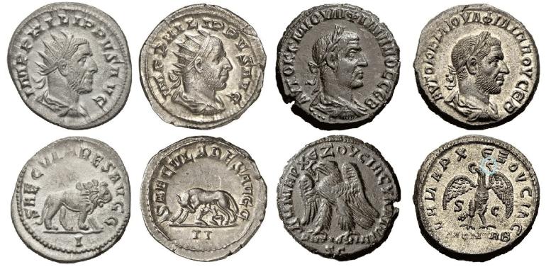 monedas romanas 1