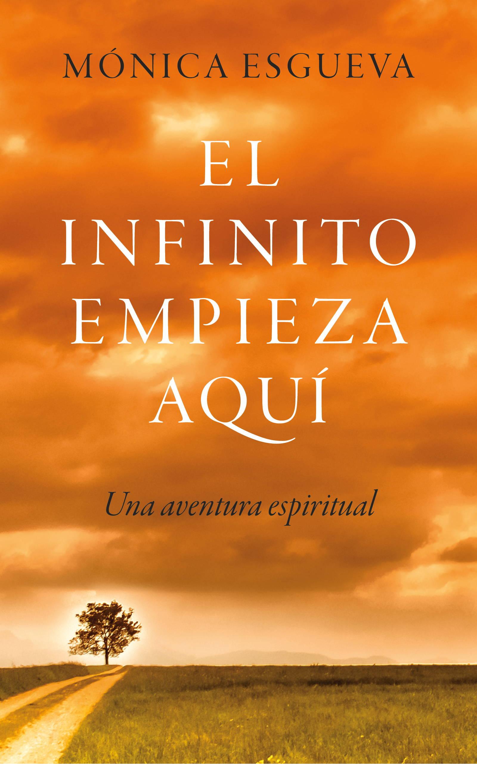 Portada libro el infinito empieza aqui