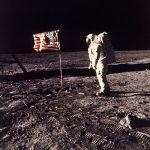 Y el hombre pisó la Luna
