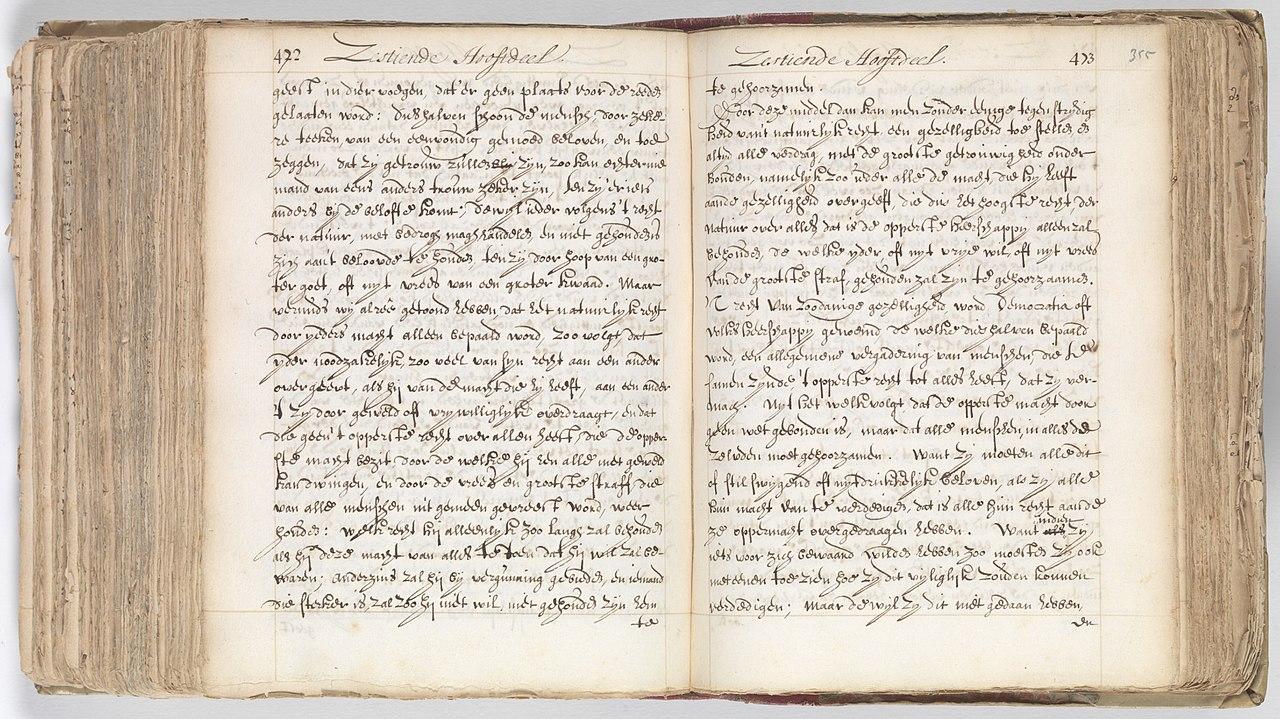 manuscrito spinoza