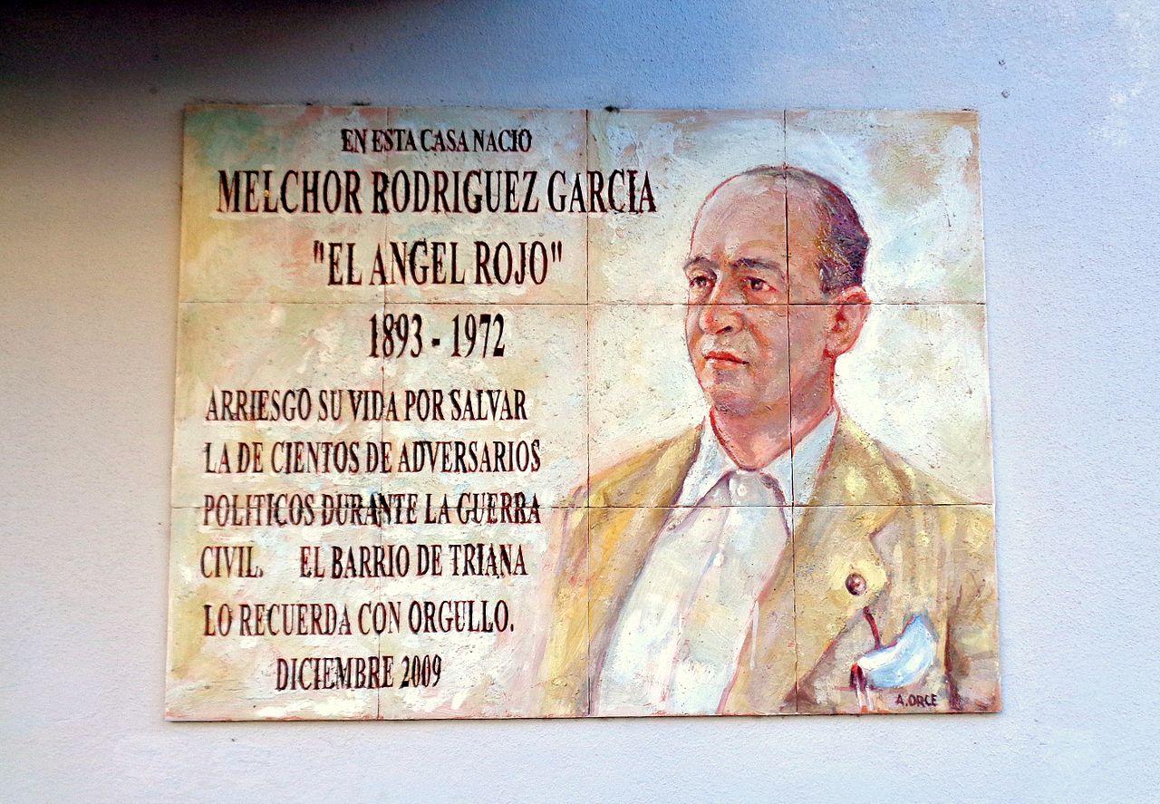 Placa a Melchor Rodríguez García