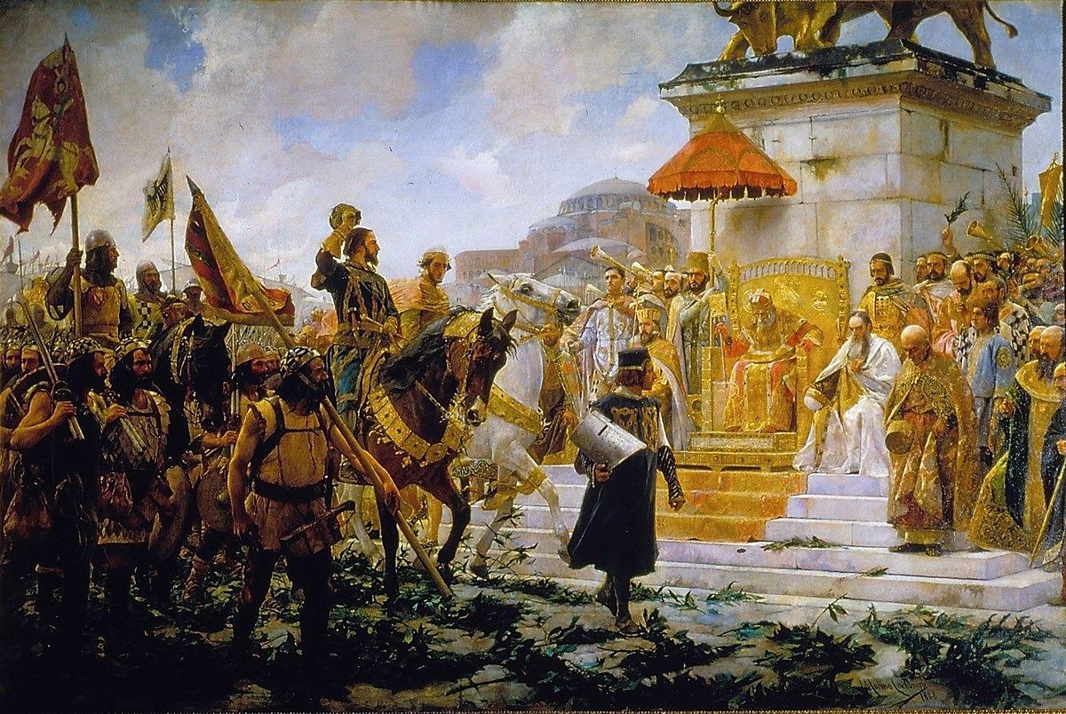Entrada de Roger del FLor en Constantinopla