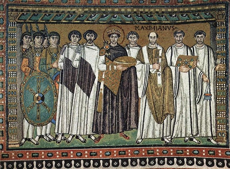 Justiniano mosaico san vitale