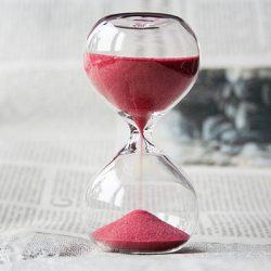 paso del tiempo