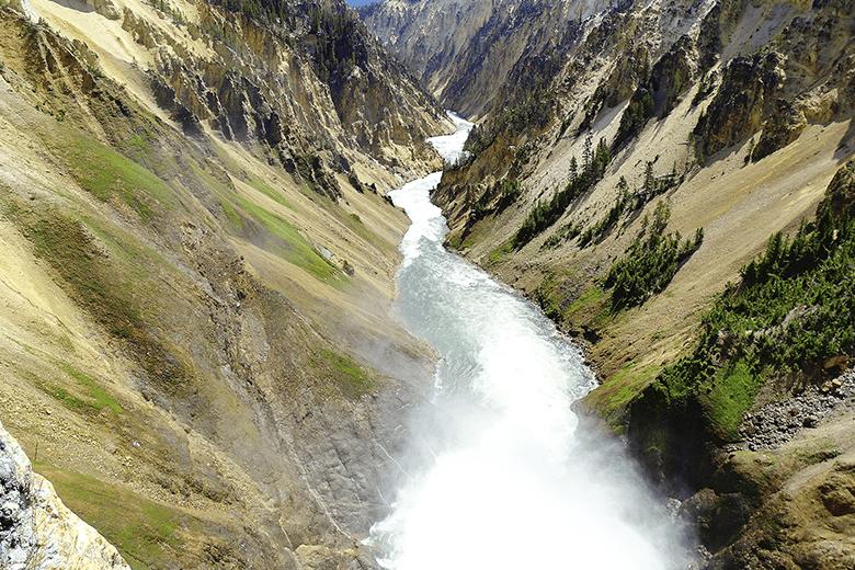 Yellowstone: viaje al centro de la Tierra (1ª parte)