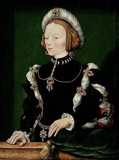 Isabel de Portugal por William Scrots