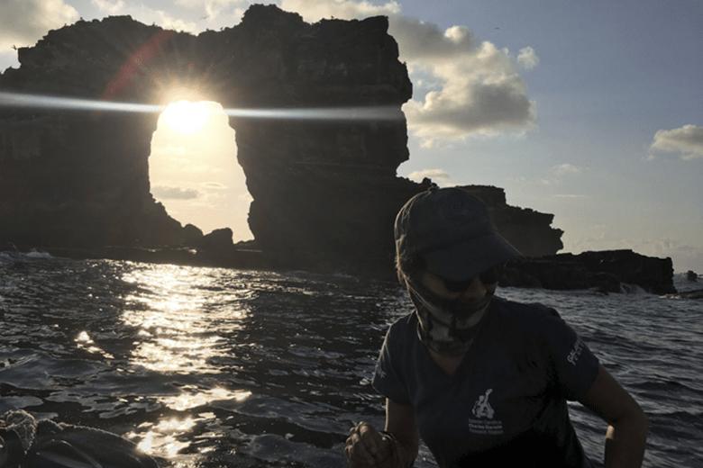 Galapagos Los Pilares de Darwin.