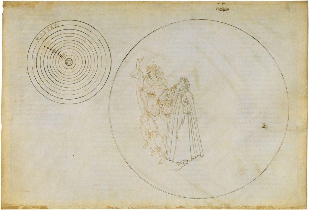 Botticelli Dante Beatriz