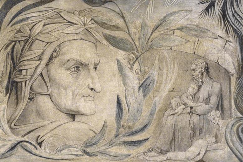 William Blake Dante